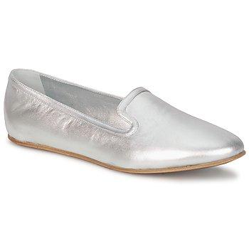 Zapatos Mujer Mocasín Rochas RO18101 Silver
