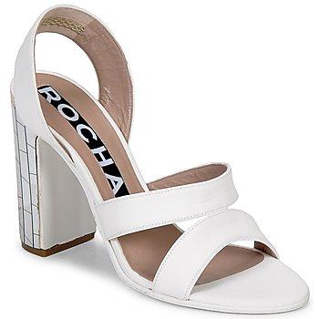 Zapatos Mujer Sandalias Rochas RO18244 Blanco
