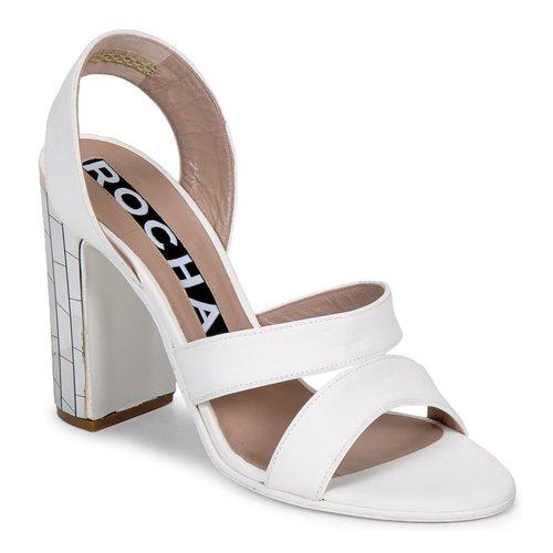 Gran descuento descuento Gran Zapatos especiales Rochas RO18244 Blanco 556af8 51bfed