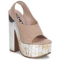 Zapatos Mujer Sandalias Rochas RO18175 Tabaco