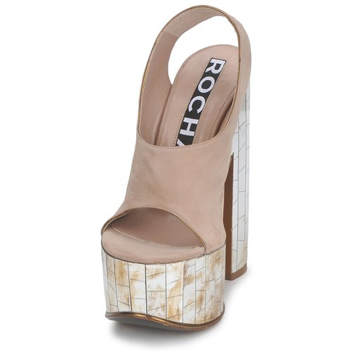 Sandalias Tabaco Zapatos Mujer Ro18175 Rochas UMqVGzSp