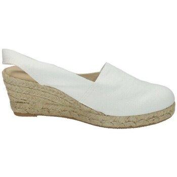Zapatos Mujer Alpargatas Torres Zapatilla blanca Blanco