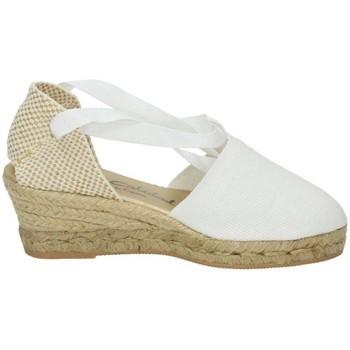 Zapatos Mujer Alpargatas Torres Valencianas blancas Blanco