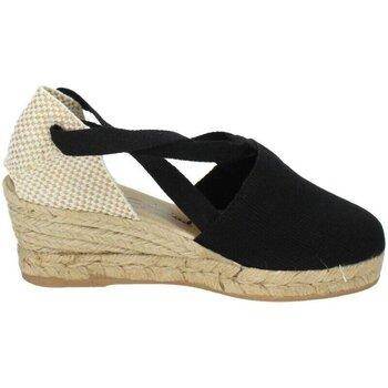 Zapatos Mujer Alpargatas Torres Valencianas negras Negro