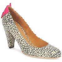 Zapatos Mujer Zapatos de tacón Maloles CHRISTIA Negro / Blanco / Rosa