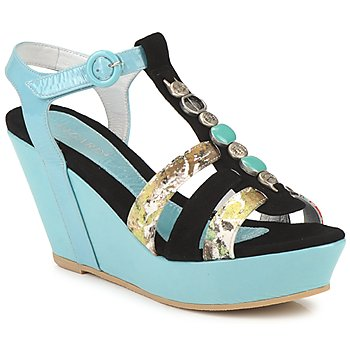 Zapatos Mujer Sandalias Regard RAFAVO Negro / Azul