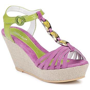 Zapatos Mujer Sandalias Regard RAFAZA Violín / Verde