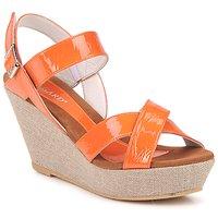 Zapatos Mujer Sandalias Regard RAGA Naranja