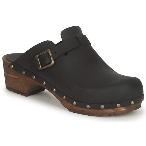 Zapatos Mujer Zuecos (Clogs) Sanita KRISTEL OPEN Negro