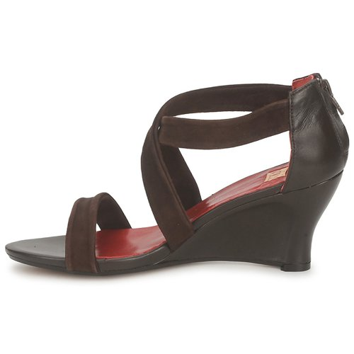 Marrón Vialis Nivel Sandalias Zapatos Mujer qzpLUMGSV