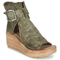 Zapatos Mujer Sandalias Airstep / A.S.98 NOA BUCKLE Kaki