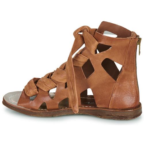 Ramos Zapatos Laces Mujer s AirstepA 98 Sandalias Camel 6yvY7Ifbgm