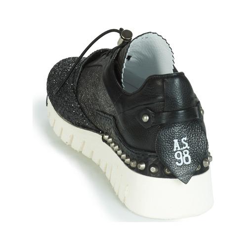 Zapatillas Mujer Negro Bajas 98 Zapatos s AirstepA Denalux I29eEHYWDb