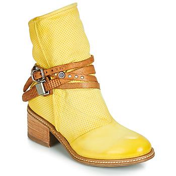 Zapatos Mujer Botas de caña baja Airstep / A.S.98 WINNIE STRAP Amarillo