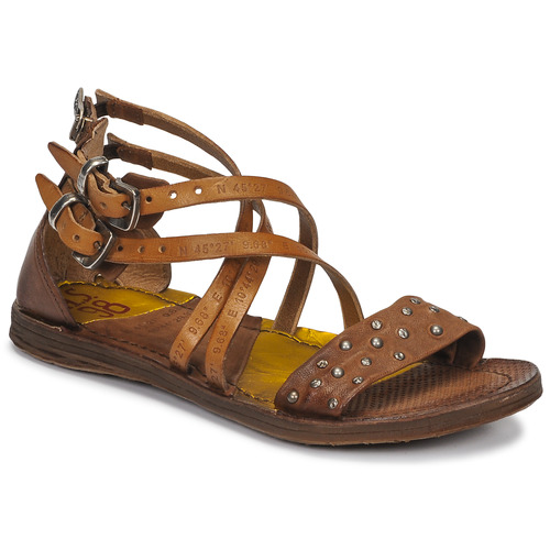 Airstep / A.S.98 RAMOS CLOU Camel - Envío gratis | ! - Zapatos Sandalias Mujer