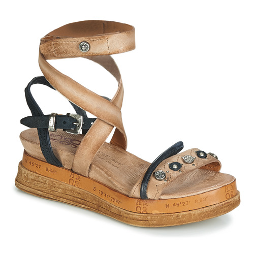 Zapatos Mujer Sandalias Airstep / A.S.98 LAGOS Beige / Negro