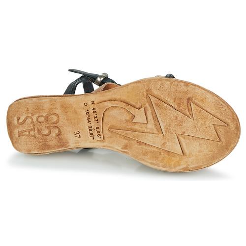 Zapatos Beige AirstepA Sandalias 98 Negro Lagos s Mujer HD9YIW2E