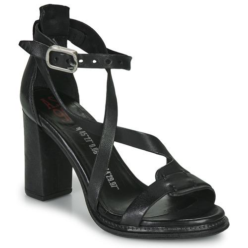 Airstep / A.S.98 BASILE Negro - Envío gratis | ! - Zapatos Sandalias Mujer