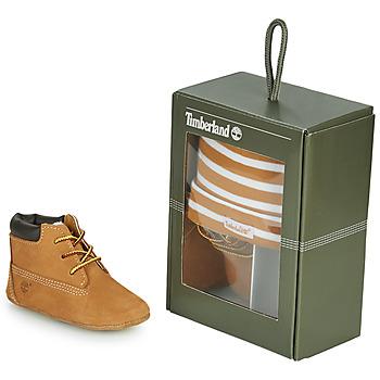 Zapatos Niños Botas de caña baja Timberland CRIB BOOTIE WITH HAT Trigo