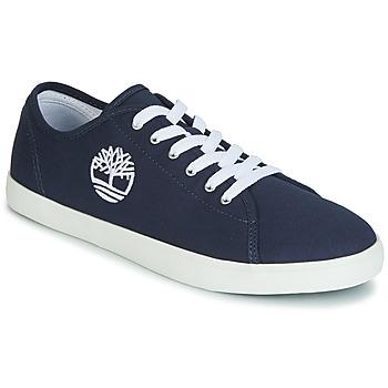 Zapatos Niños Zapatillas bajas Timberland NEWPORT BAY CANVAS OX Azul