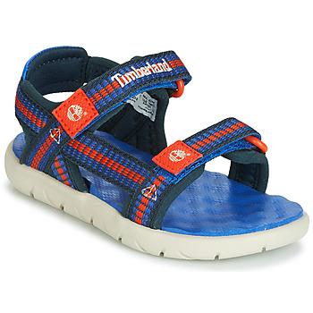 Zapatos Niños Sandalias Timberland PERKINS ROW WEBBING SNDL Azul