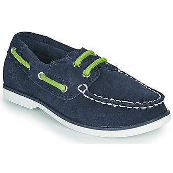 Zapatos Niños Zapatos náuticos Timberland SEABURY CLASSIC 2EYE BOAT Negro