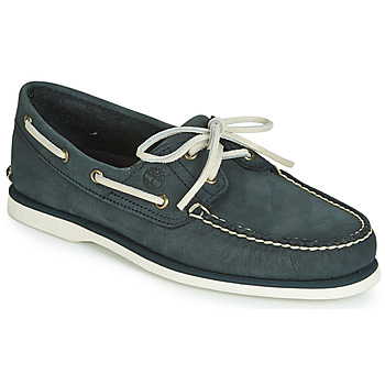 Zapatos Hombre Zapatos náuticos Timberland CLASSIC BOAT 2 EYE Gris