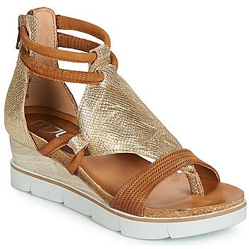 e7337b3c4de Zapatos Mujer Sandalias Mjus TAPASITA Oro   Camel