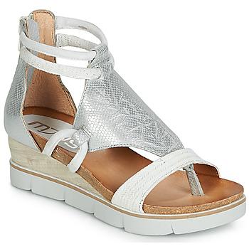Zapatos Mujer Sandalias Mjus TAPASITA Blanco / Plata