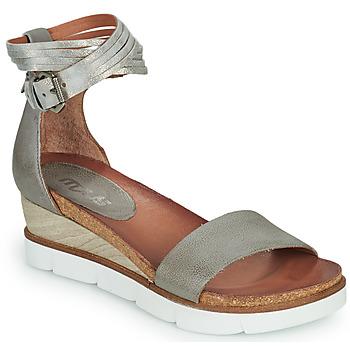cdf1036021d Zapatos Mujer Sandalias Mjus TAPASITA Gris   Plata