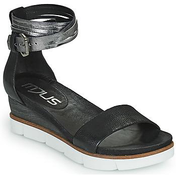 Zapatos Mujer Sandalias Mjus TAPASITA Negro / Plata