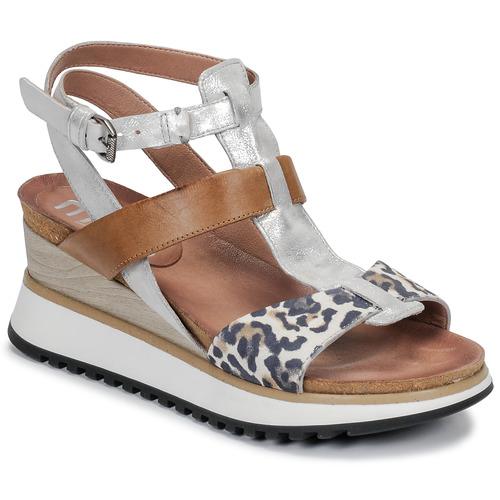 Zapatos Mujer Sandalias Mjus TARDE Camel / Leo
