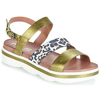 Zapatos Mujer Sandalias Mjus TALISMAN Verde / Leo