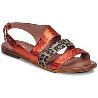 Zapatos Mujer Sandalias Mjus CHAT BUCKLE Rojo / Leopardo