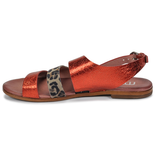 Mujer RojoLeopardo Buckle Zapatos Mjus Sandalias Chat 54RAL3jq