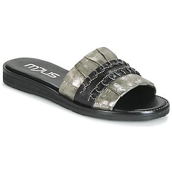 Zapatos Mujer Zuecos (Mules) Mjus TEMPLE Kaki / Negro