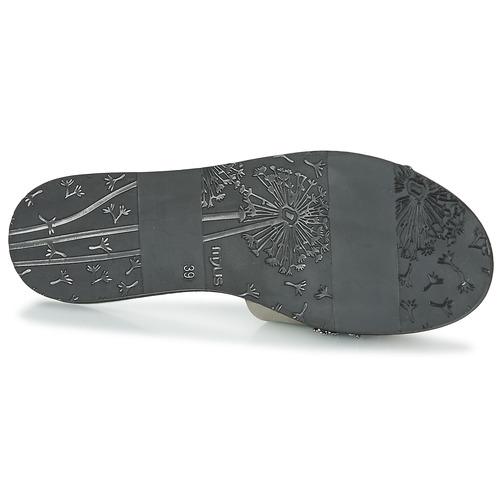 KakiNegro Mujer Zapatos ZuecosmulesMjus Mujer Temple Temple Zapatos ZuecosmulesMjus Zapatos Mujer KakiNegro 34RjL5Aq