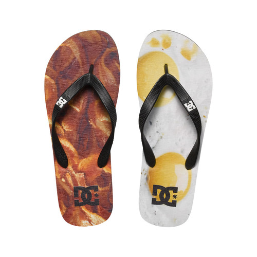 Zapatos Hombre Chanclas DC Shoes SPRAY GFK blanco