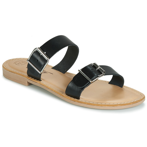 Betty London JADALEBE Negro - Envío gratis | ! - Zapatos Zuecos (Mules) Mujer