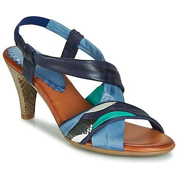 Zapatos Mujer Sandalias Betty London POULOI Azul / Verde