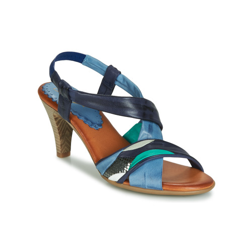 Betty London POULOI Azul / Verde - Envío gratis   ! - Zapatos Sandalias Mujer