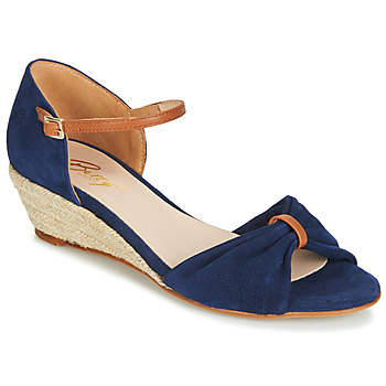 Zapatos Mujer Sandalias Betty London JIKOTIBE Marino / Cognac
