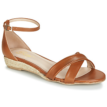 Zapatos Mujer Sandalias Betty London JIKOTIVE Camel