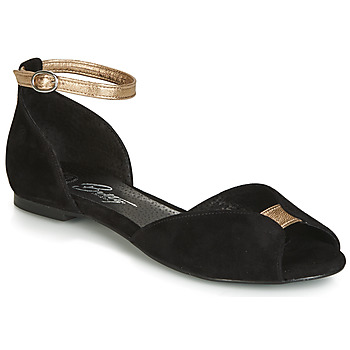 Zapatos Mujer Sandalias Betty London INALI Negro