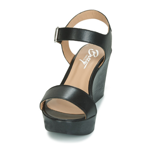 Betty Charlota London Sandalias Zapatos Mujer Negro OkX0P8nw