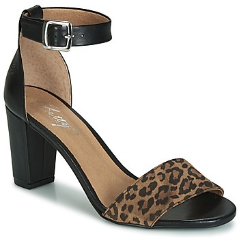 Zapatos Mujer Sandalias Betty London CRETOLIA Negro