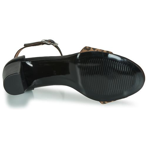 Sandalias London Cretolia Zapatos Negro Mujer Betty PkuTXiOZ