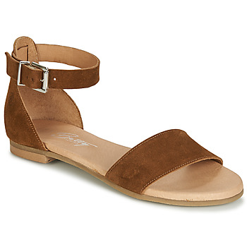 Zapatos Mujer Sandalias Betty London JIKOTIRE Camel
