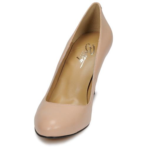 De London Rokolu Mujer Betty Tacón Zapatos Nude 5q34LRAcjS