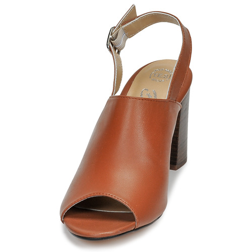 Mujer London Camel Zapatos Betty Sandalias Jikotege QBoeCrdxWE
